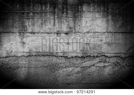 Rough textured concrete wall background