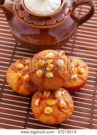 Cupcakes With Hazelnuts