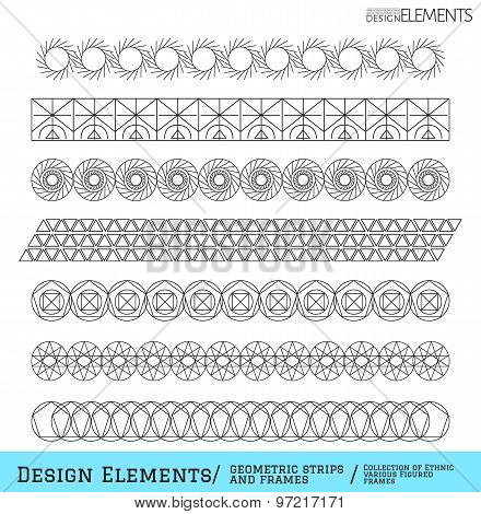 Set Of Geometric Hipster Shapes And Logotypes654888511