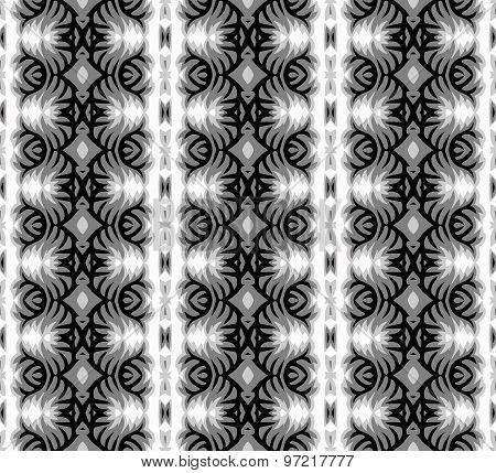 Monochrome seamless pattern.