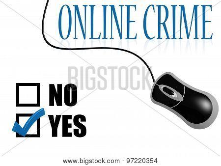 Online Crime Check Mark
