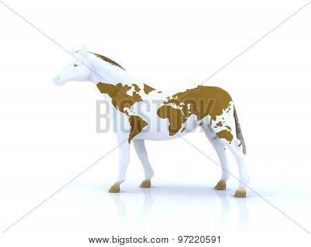 Horse With The World