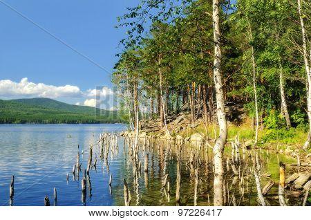 Lake Turgoyak, Southern Urals