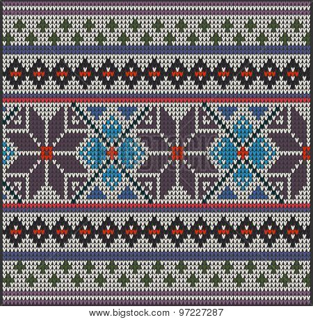 Knitting Pattern Sweater Flowers 2257788