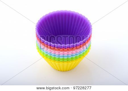 Colourful Cake Molds