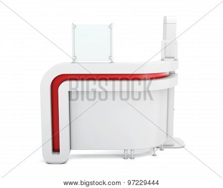 Advertizing Front Desk Of Clients