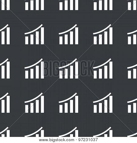 Straight black bar graphic pattern