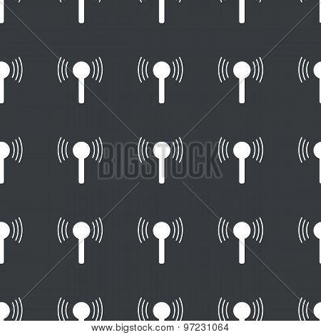 Straight black signal pattern