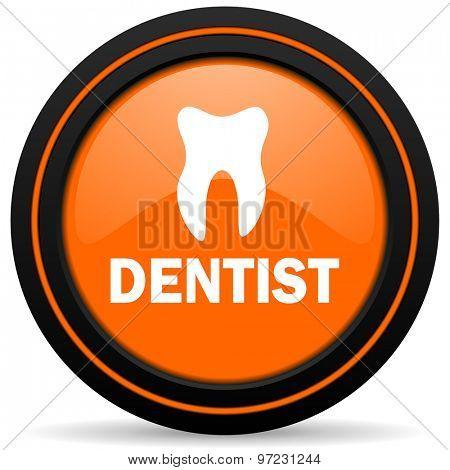 dentist orange icon