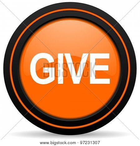 give orange icon