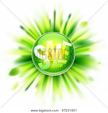 Green Season Sale  Label