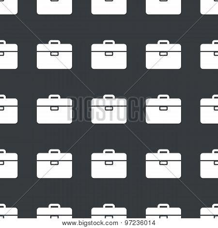 Straight black briefcase pattern