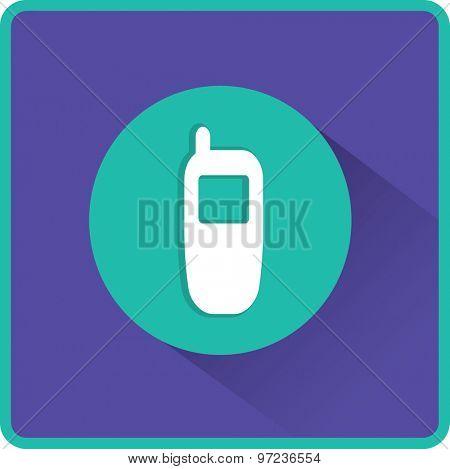 Flat Vector Phone Icon