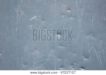Dented Metal Background