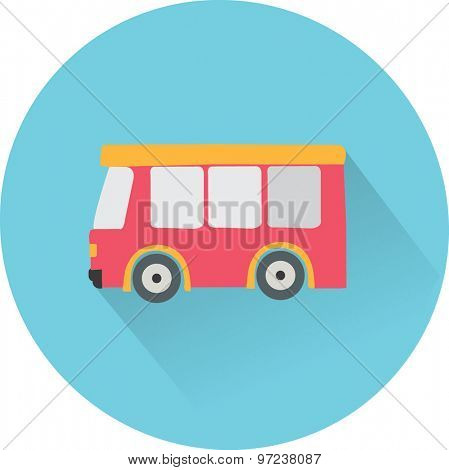 flat icon Bus