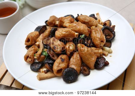 Chinese cooking dish