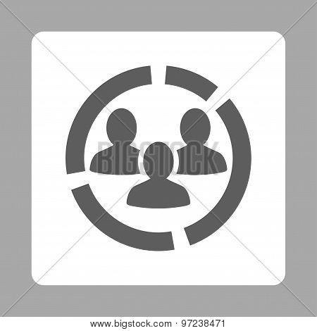Demography diagram icon