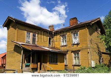 Old Wooden Two Storey House