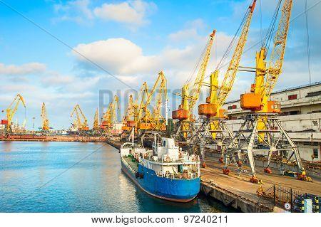 Odessa Commercial Port, Ukraine