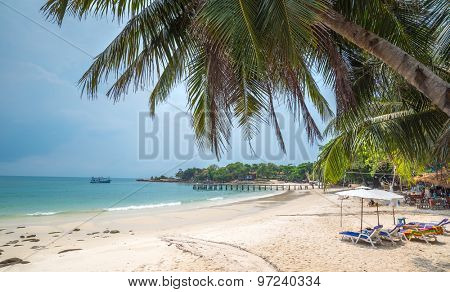 beach of the Koh Samed islamd, Thailand Rayong