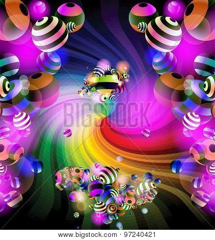 Spiral and balls