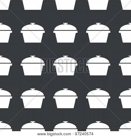 Straight black pot pattern