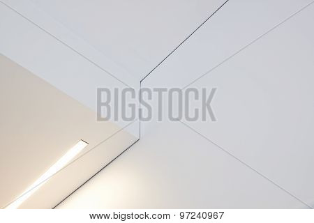 Detail Of A Vaulted Ceiling Without Joints