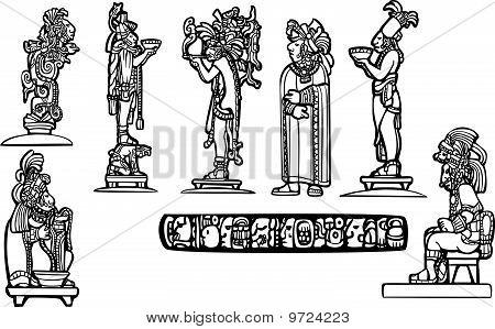 Mayan temple group