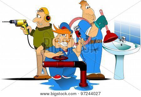 Three Plumbing