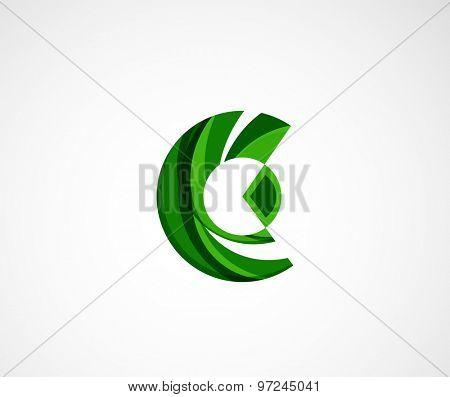 Statistics company logo design. Vector illustration. Economy business icon