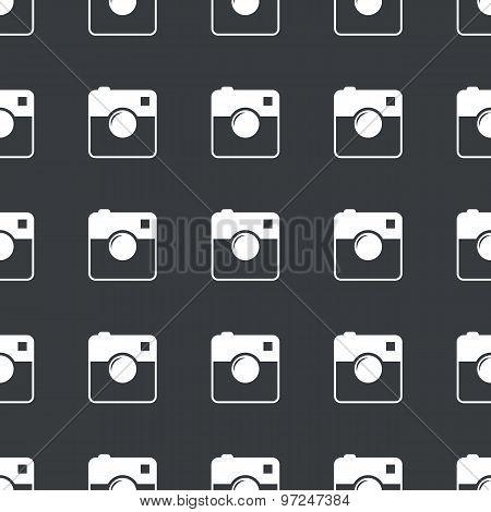 Straight black square camera pattern