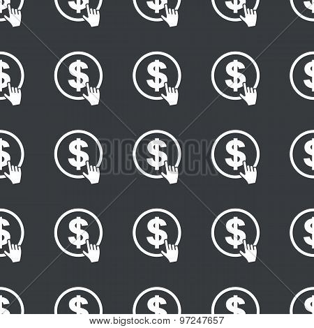 Straight black dollar click pattern
