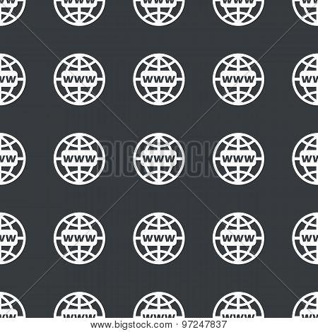 Straight black global network pattern