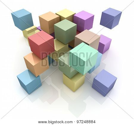 Colorful Block