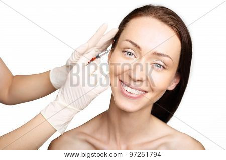 Hyaluronic acid, wrinkles around the eyes