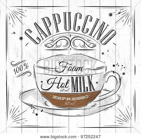 Poster Cappuccino