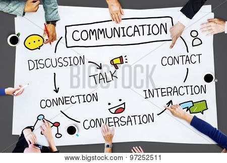 Communication Discussion Contact Conversation Concept