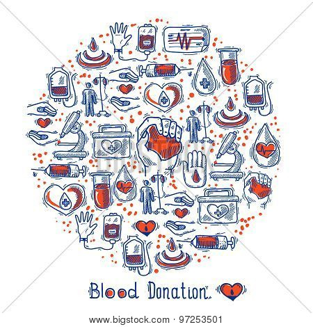 Donor Icons Circle