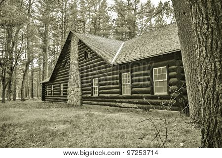 Depression Era Log Cabin