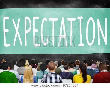 Expectation Aspiration Diverse Expect Future Concept