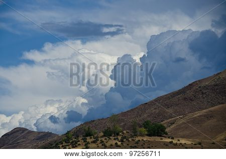 Storm Clouds Descending On Hells Canyon