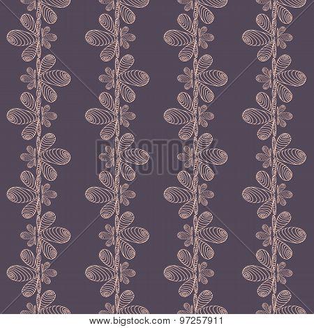 pattern seamless backdrop on dark blue