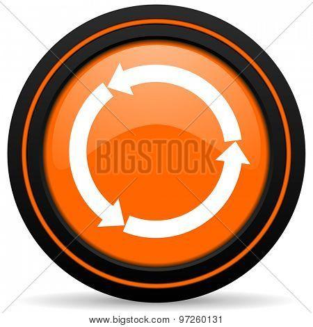 refresh orange icon reload orange icon