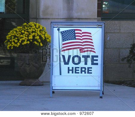 Voter Sign