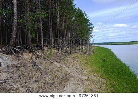 River In Siberia, Russia