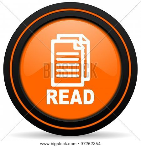 read orange icon