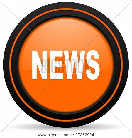 news orange icon