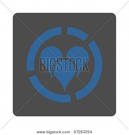 Geo diagram icon