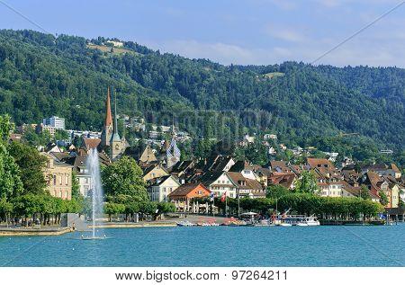 Zug Cityscape
