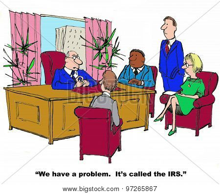 Problem with IRS